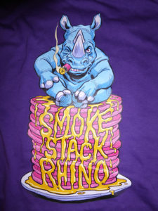 Rhino Pancake - Purple