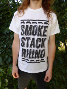 Rhino Stacked - White